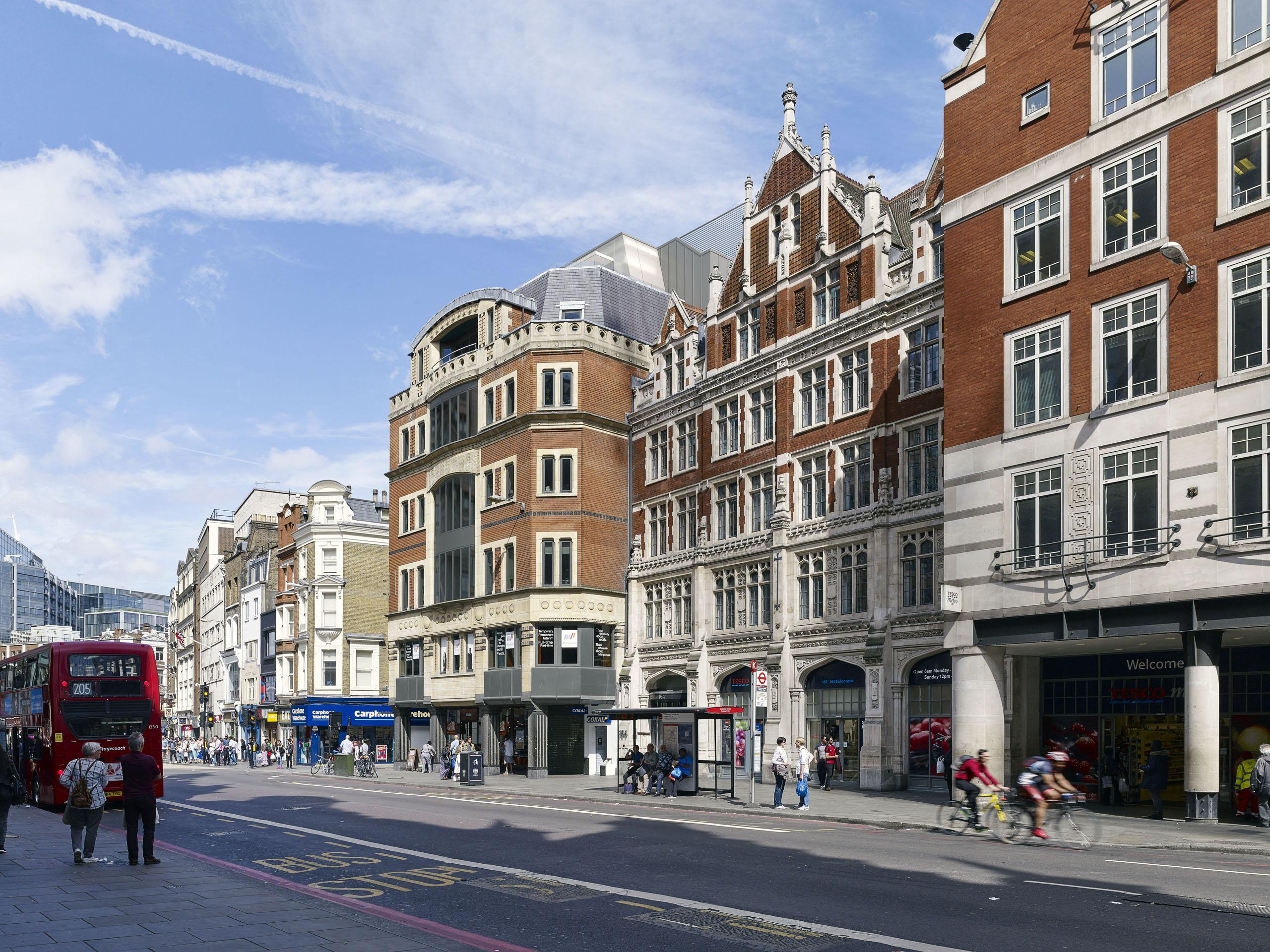 14 New Street London Ec3 Refurbishment Project By Garnett