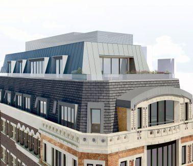 14 New Street City of London extension design