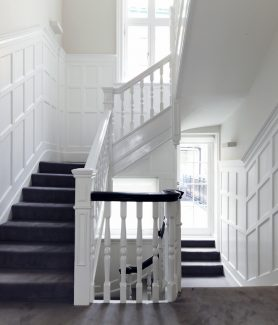 12 Herbert Crescent Knightsbridge staircase