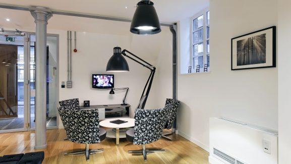 8-12 Dryden Street Covent Garden seating