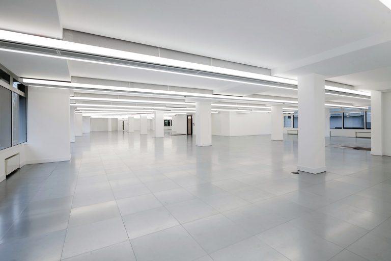 322 High Holborn typical office floor