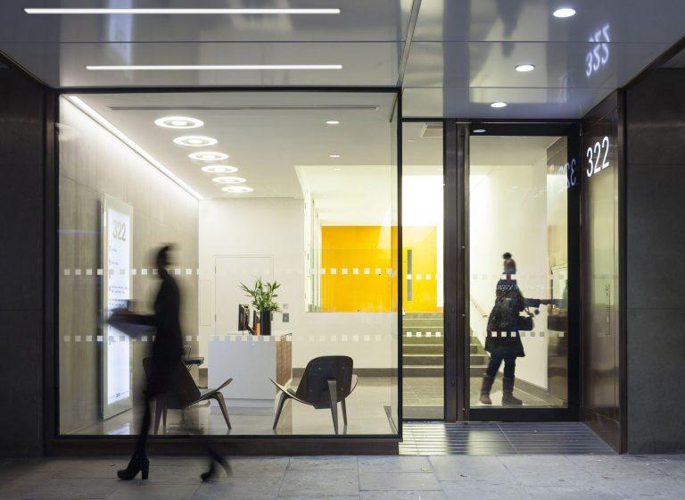 322 High Holborn new shopfront