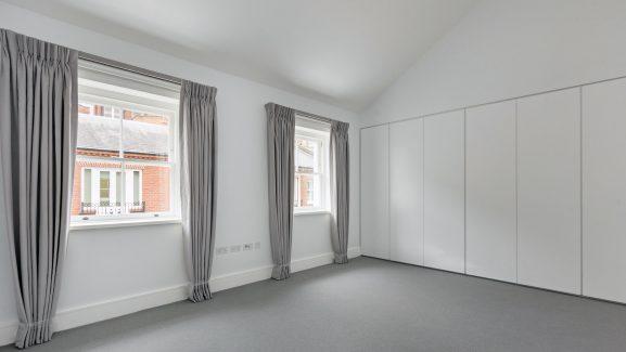 5 & 7 Shafto Mews Knightsbridge London bedroom