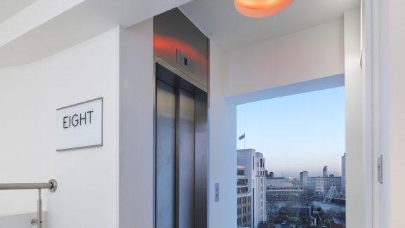 55 Strand London Lift Lobby