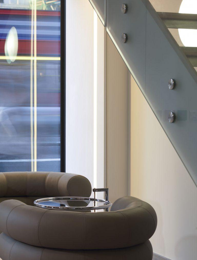 55 Strand London Seating Detail