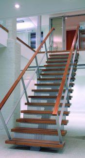 8-12 Dryden Street Covent Garden stair