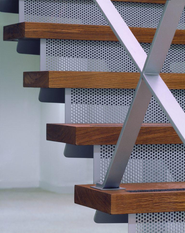 8-12 Dryden Street Covent Garden stair detail
