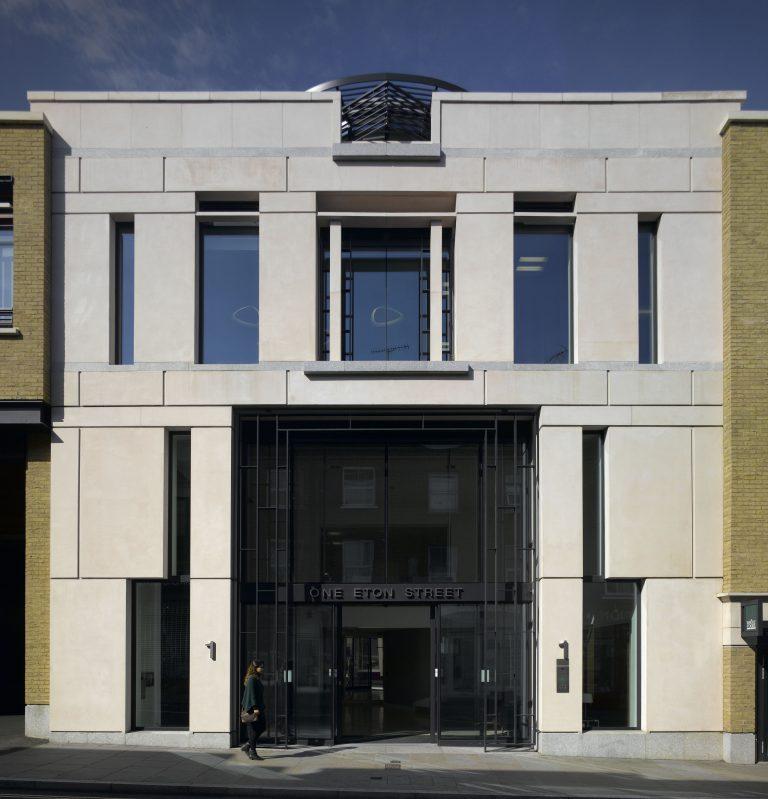 1 Eton Street Richmond Entrance