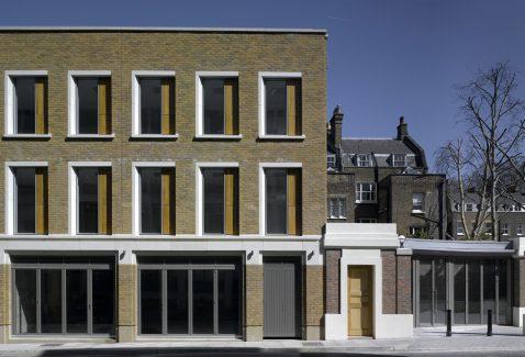 6 Store Street Bloomsbury London elevation