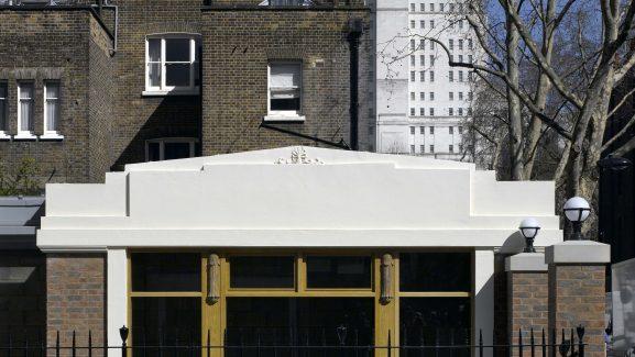 6 Store Street Bloomsbury London detail