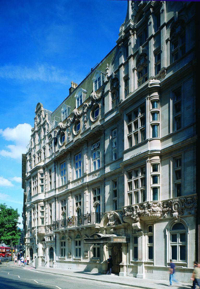Holborn Hall, 193-197 High Holborn, London exterior