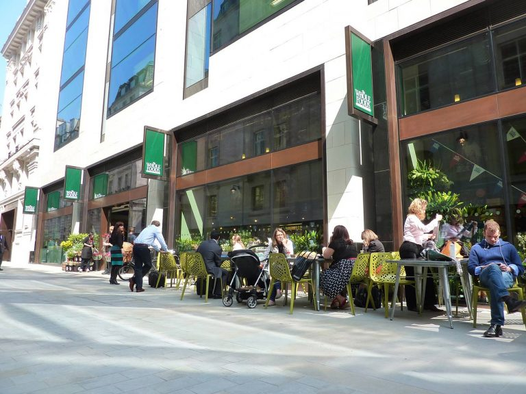whole foods market piccadilly London glasshouse street